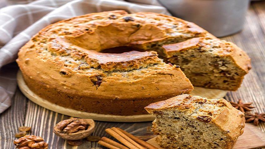 Κέικ καρυδάτο