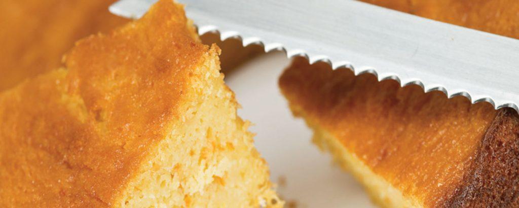 Κέικ με άρωμα κιτρόμηλο