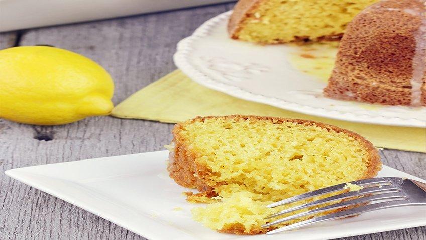 Κέικ λεμόνι με λάδι