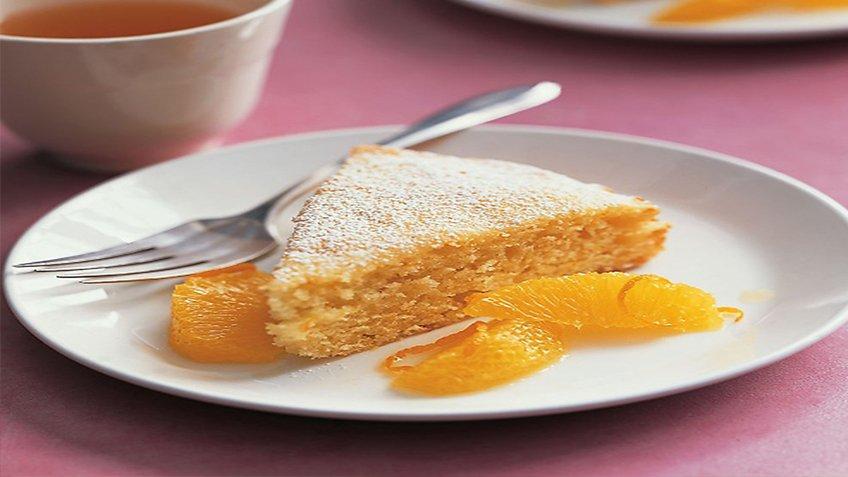 Κέικ πορτοκάλι με γιαούρτι