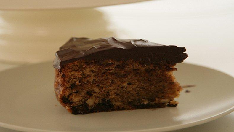 Κέικ με σοκολάτα και φουντούκια