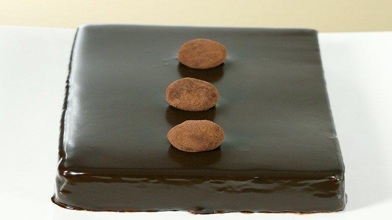 Κέικ µους σοκολάτας
