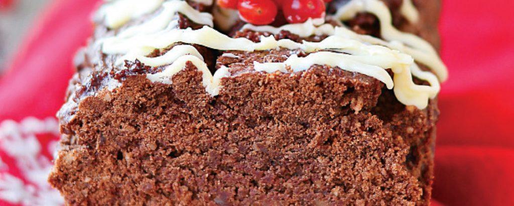Κέικ σοκολάτας με ξηρούς καρπούς