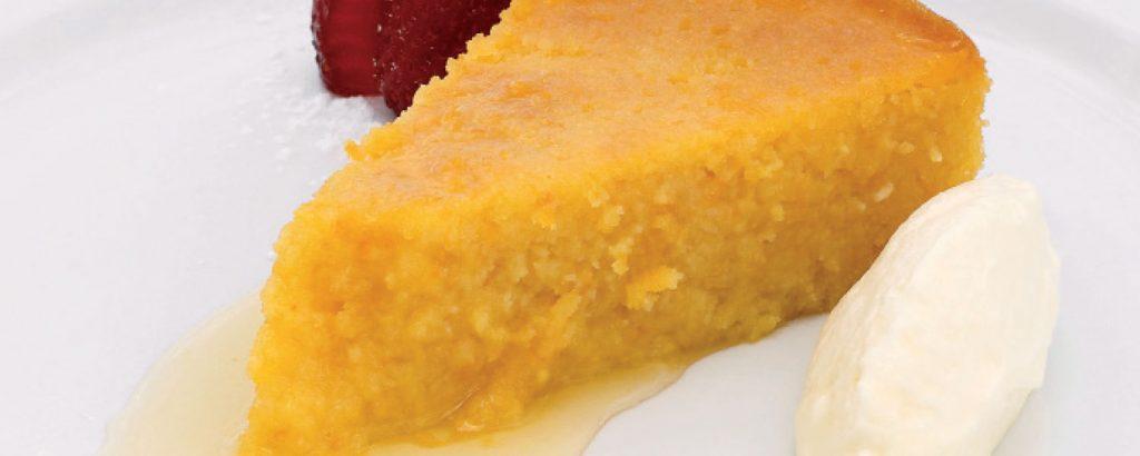 Κέικ πορτοκάλι - αμύγδαλο (Χωρίς αλεύρι)