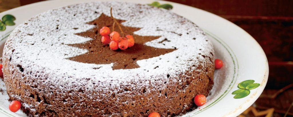 Χριστουγεννιάτικο κέικ με ουίσκι