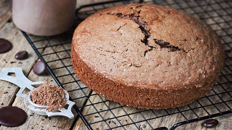 Aπλό κέικ σοκολάτας