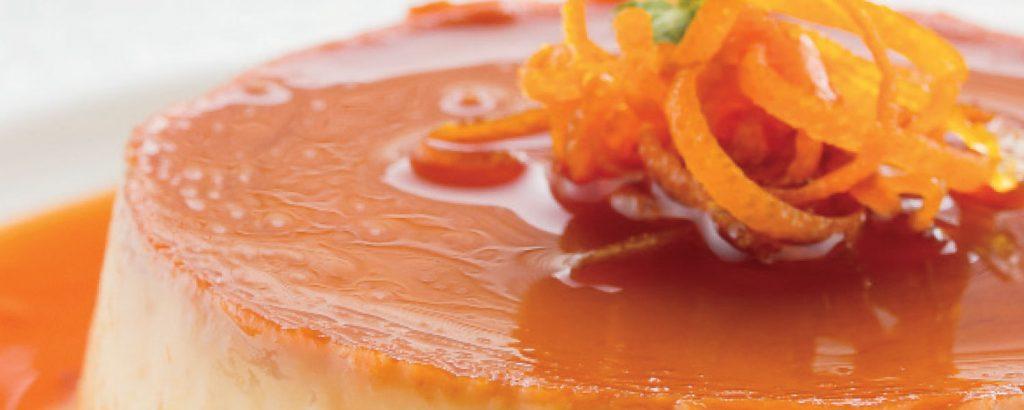 Κρέμα καραμέλα με άρωμα πορτοκάλι