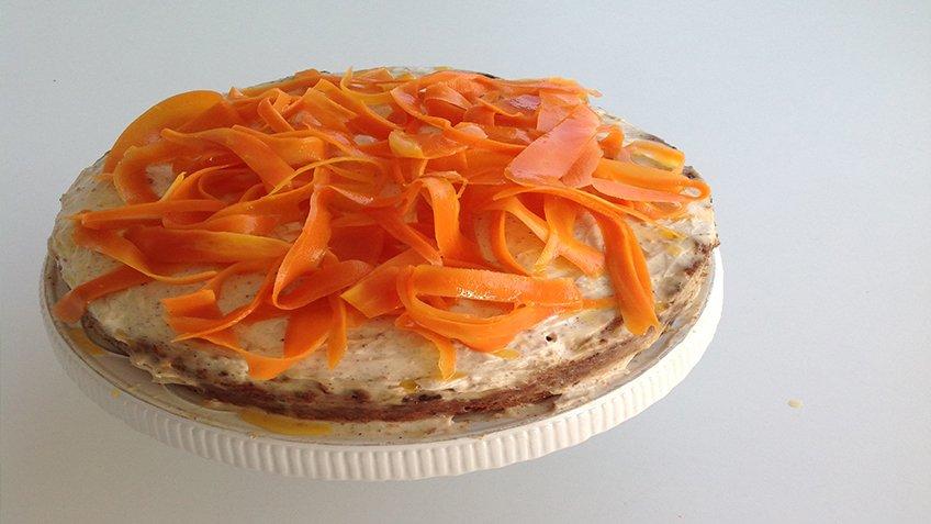 Κέικ καρότου με στέβια