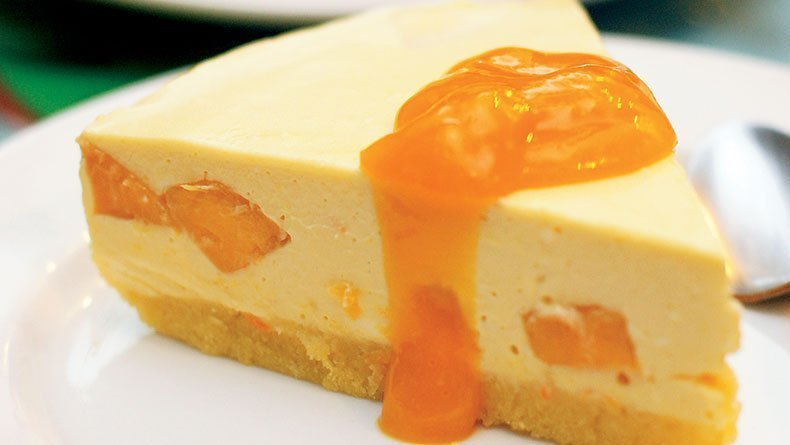 Cheesecake μάνγκο