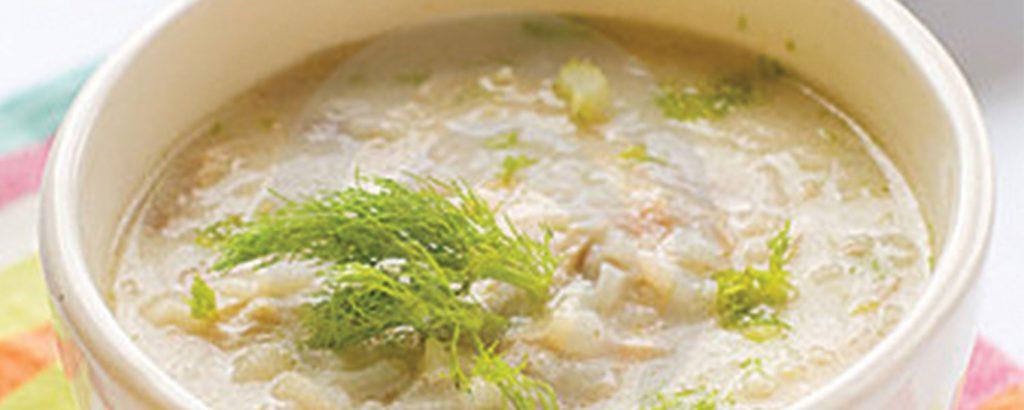 Σούπα κοτόπουλο αβγολέμονο
