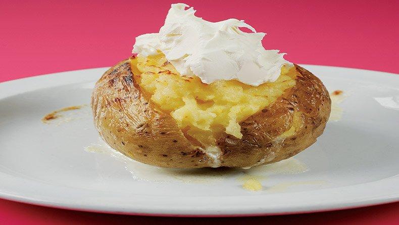 Διπλοφουρνιστή πατάτα