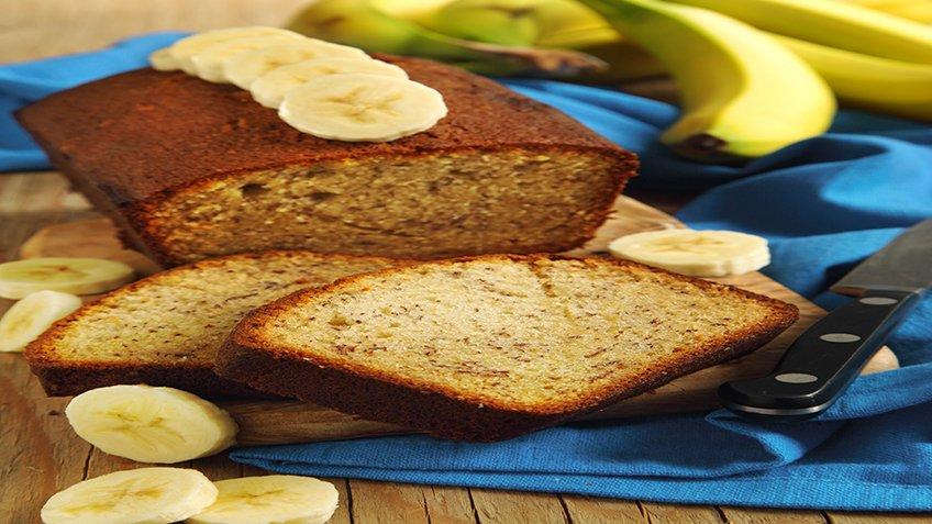 Εύκολο κέικ μπανάνας