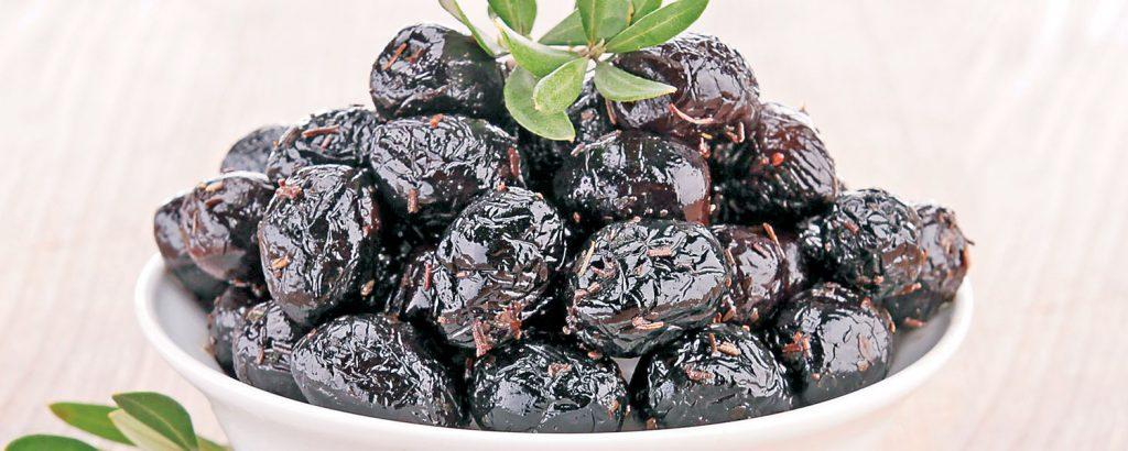 Μαύρες αρωματικές ελιές (κρητικές)