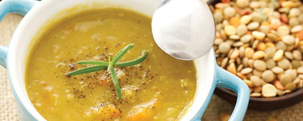 Φακές σούπα περαστή με ντομάτα