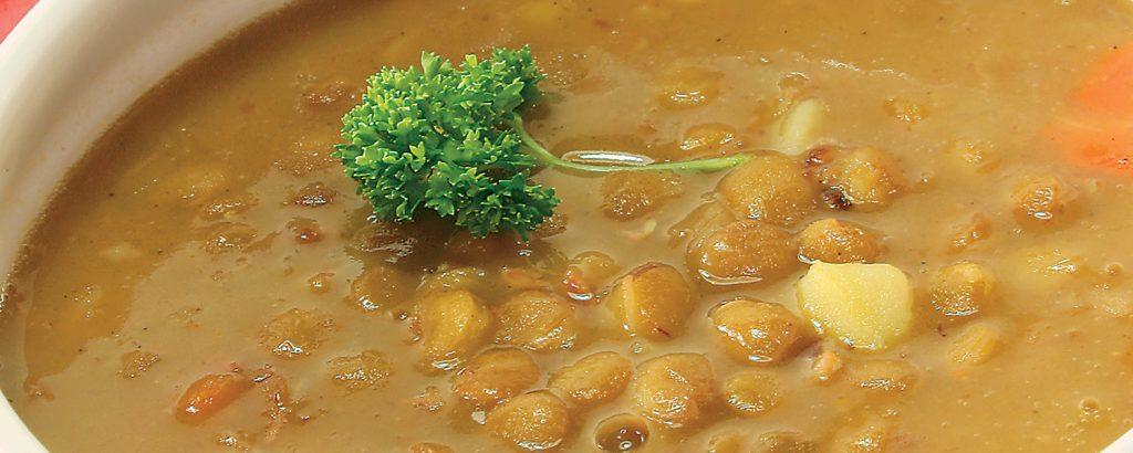 Σούπα φακές με λουβάνα