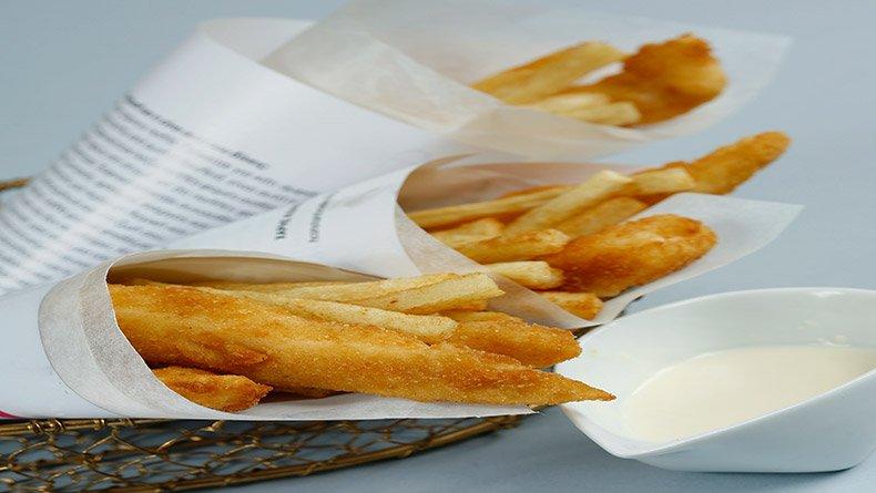 """""""Fish & chips"""" στο χαρτί"""