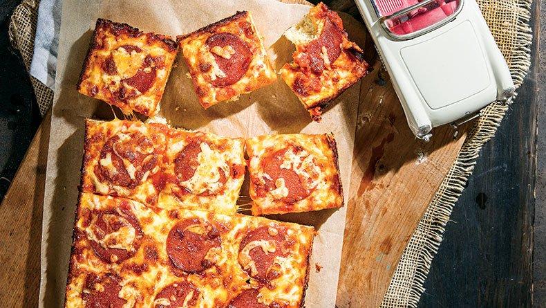 Φοκάτσια πίτσα