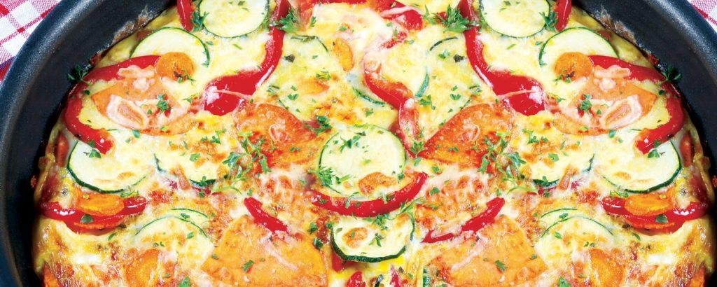 Φριτάτα με ανάμικτα λαχανικά