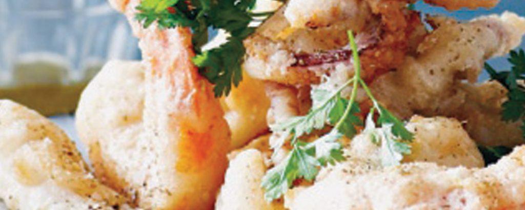 Fritto misto (Ανάμικτα ψαρικά τηγανητά)