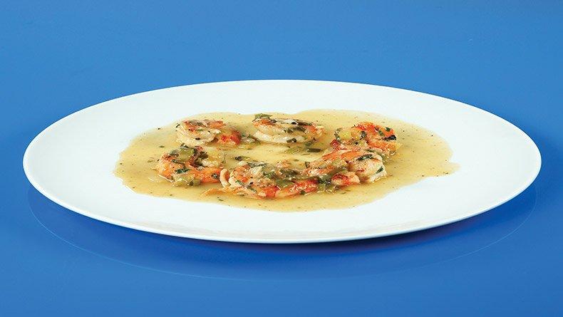 Γαρίδες σοτέ σκόρδο-λεμόνι