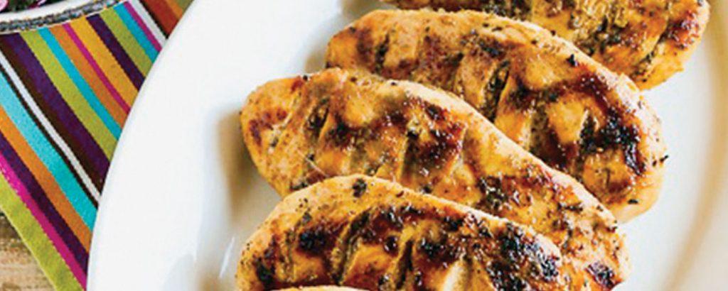 Φιλέτο κοτόπουλο στη σχάρα
