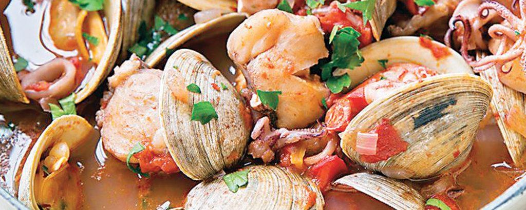 Ιταλικό ραγού θαλασσινών