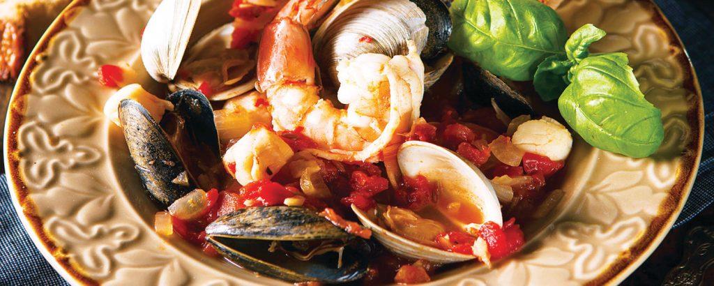 Ιταλικό ραγού θαλασσινών «τσοπίνο» (Cioppino)