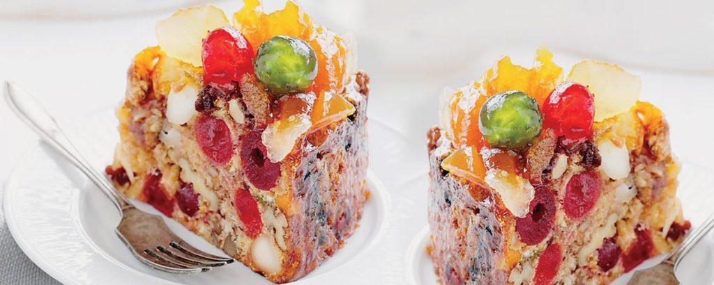 Πολύ πλούσιο χριστουγεννιάτικο κέικ (χωρίς βούτυρο)