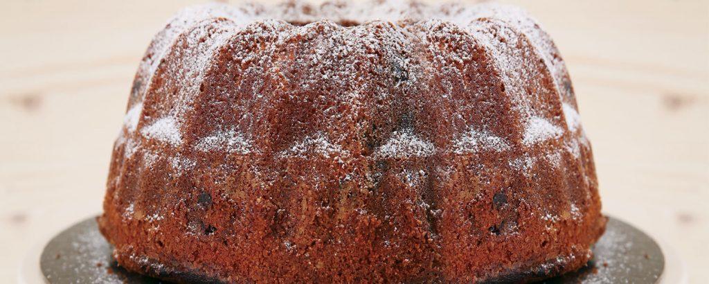 Αφράτο κέικ με κομματάκια σοκολάτας