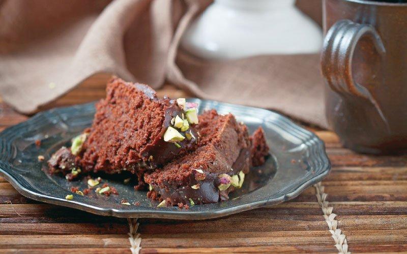Νηστίσιµο κέικ σοκολάτας