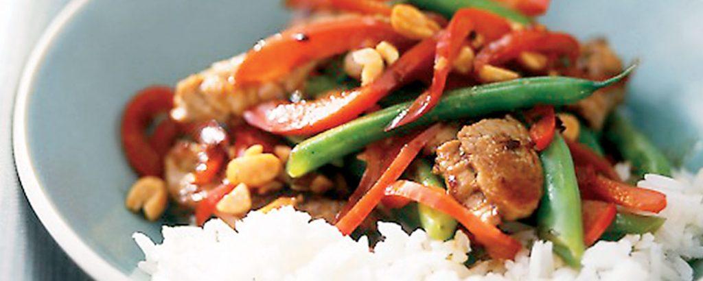 Κινέζικο χοιρινό µε λαχανικά