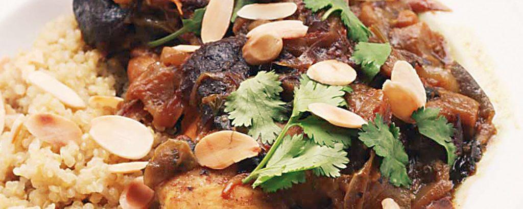 Τατζίν κοτόπουλου στην κατσαρόλα