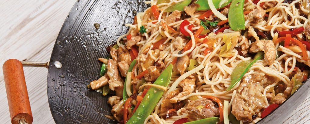Κινέζικο κοτόπουλο τσόου-μέιν