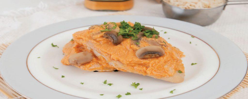 Κοτόπουλο με Κorma Σάλτσα στο φούρνο