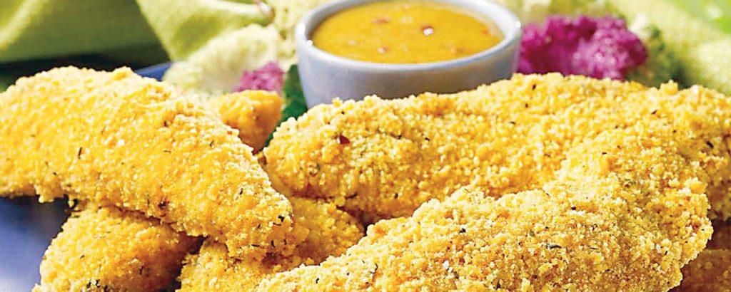 Κοτόπουλο πανέ φούρνου