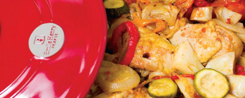 Kνήμες κοτόπουλου με λαχανικά