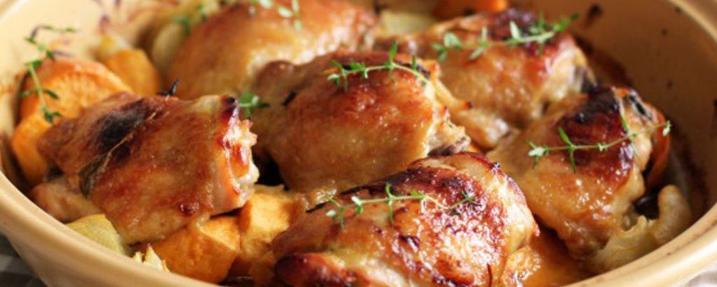 Κοτόπουλο µελεµόνι και θυµάρι