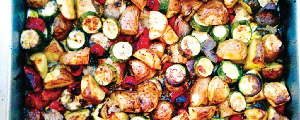 Λαχανικά ανάμικτα στο φούρνο