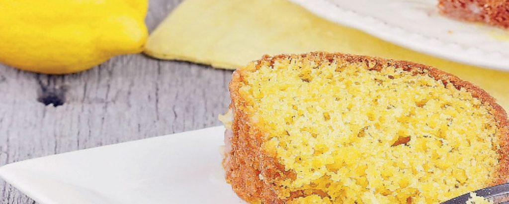 Κέικ με λεμόνι και ινδοκάρυδο