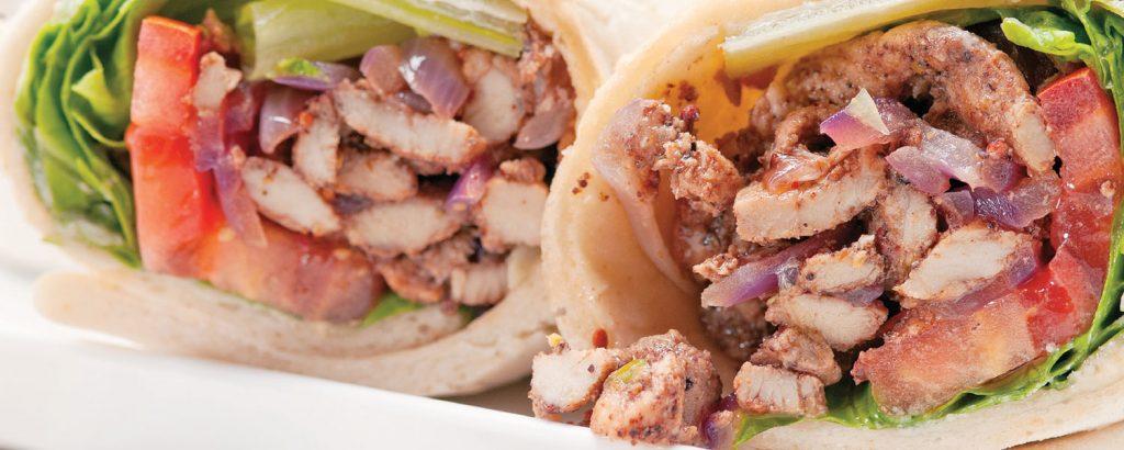 Λιβανέζικος γύρος κοτόπουλου