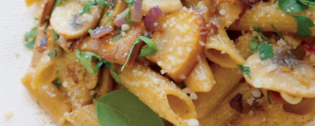Light pasta με μανιτάρια