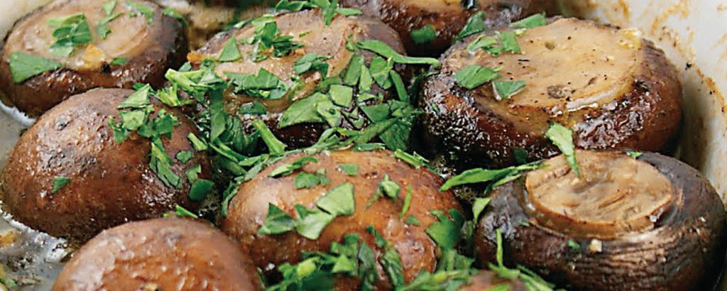 Μανιτάρια σκορδάτα (Champignons à l'ail)
