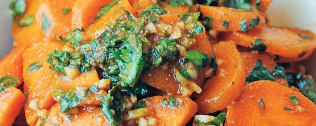 Πικάντικη μαροκινή καροτοσαλάτα
