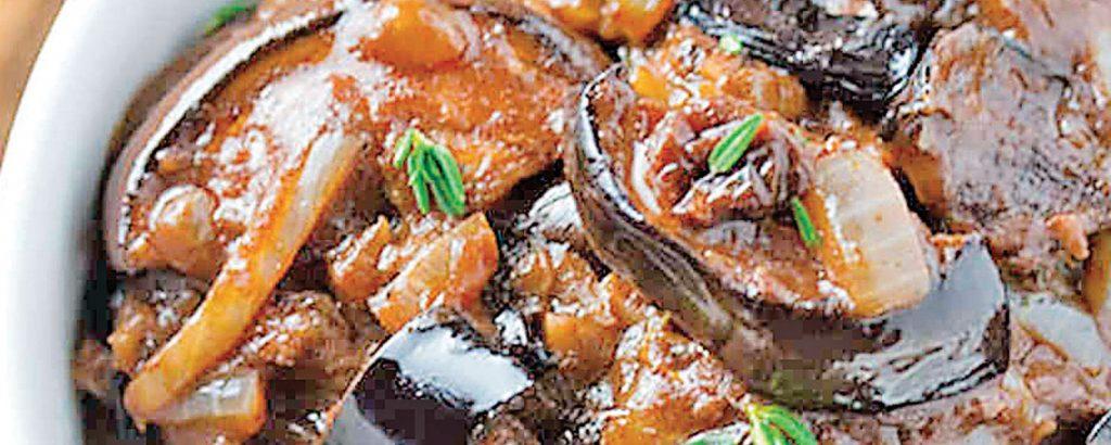 Μελιτζάνες καπονάτα (Caponata)