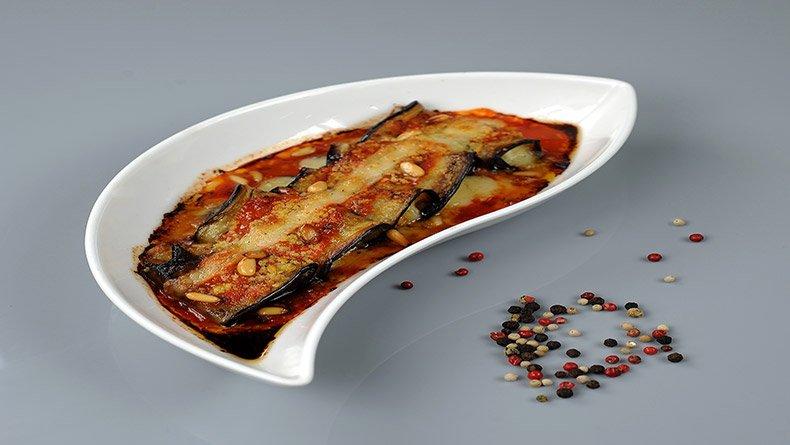 Ινβολτίνι (ρολά) μελιτζάνας με τυρί