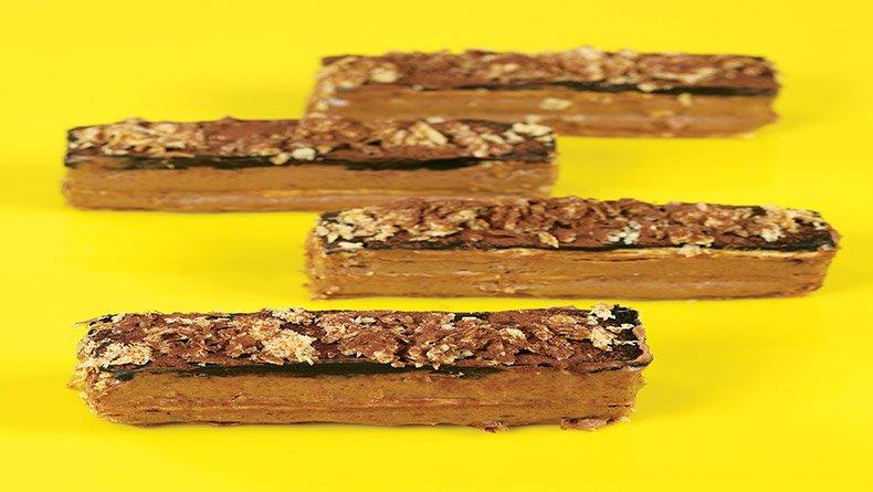 Μιλφέιγ σοκολάτας