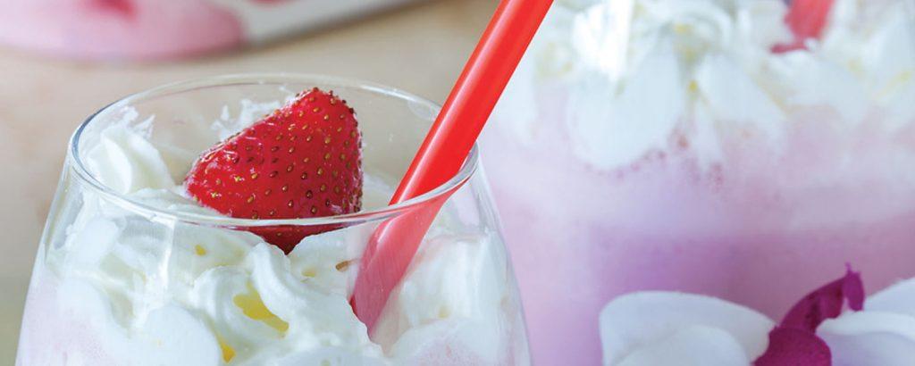 Milkshake φράουλα