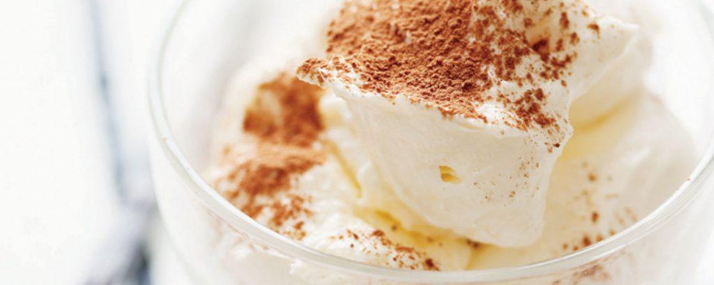 Μους βανίλια - άσπρη σοκολάτα