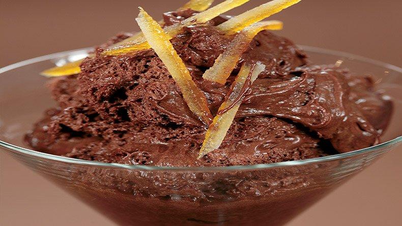 Μους σοκολάτας Grand Marnier