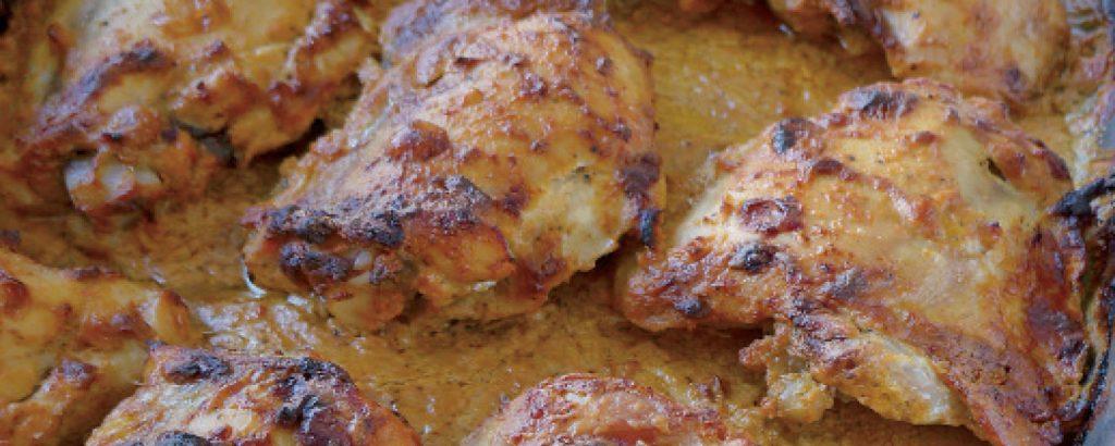 Μπουτάκια κοτόπουλου shawarma